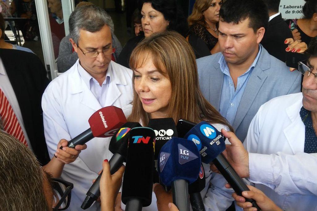 Olga Fernández, directora del hospital de Tucumán. Crédito: Archivo