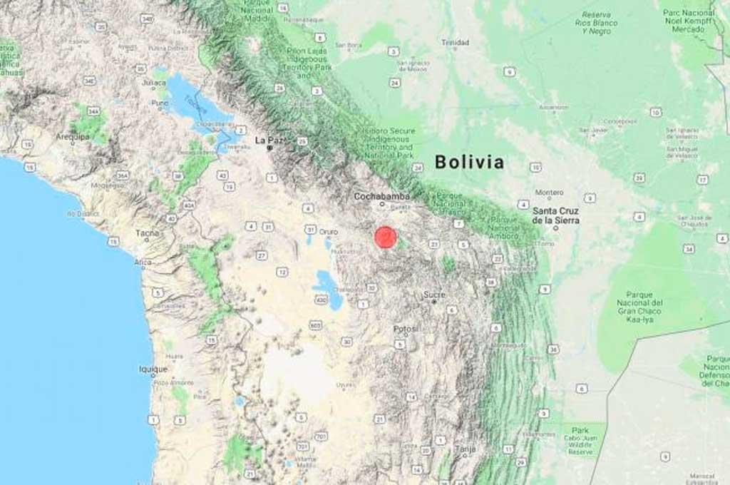 Sismo de 6.3 sacude a Bolivia en la madrugada