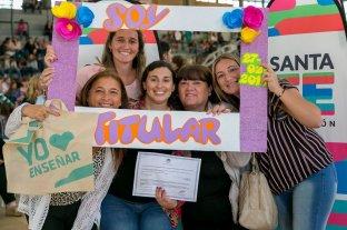 El Gobierno de Santa Fe titulariza a 50 mil docentes en 11 años