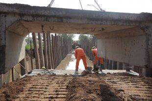 El desagüe El Sable entra en su etapa final de construcción - La obra. Se extiende sobre el callejón El Sable, desde avenida Peñaloza hasta avenida Aristóbulo del Valle. -