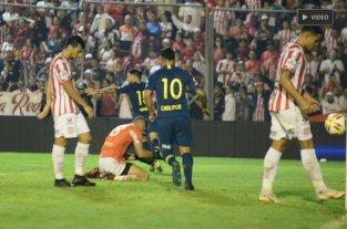 Boca goleó a San Martín de Tucumán, el primer descendido -  -