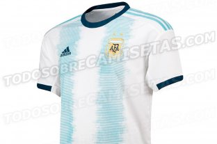 Se filtraron imágenes de la supuesta camiseta de la Selección para la Copa América 2019 -  -