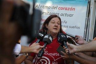 """Patiño: """"Queremos que se opere en el Alassia, y que se haga cargo quien sea"""" - Mónica Patiño, presidenta de la """"Fundación por las Cardiopatías Congénitas"""". -"""