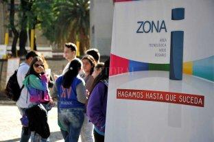 """La """"Zona i"""" del polo tecnológico, pleno desarrollo en clave joven - Continuidad. Las obras en el complejo tecnológico de Rosario avanzan a un ritmo constante. -"""