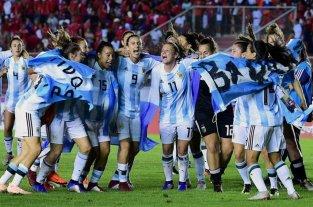 Argentina se presentó para ser sede del Mundial femenino 2023 -  -