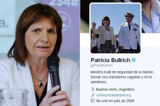 Ordenan enviar a juicio oral a dos personas que hackearon la cuenta de Patricia Bullrich -  -