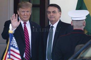 Trump evalúa dar a Brasil los privilegios militares que reciben los socios de la OTAN