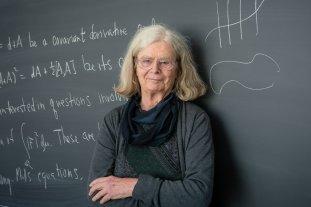 """Una mujer ganó por primera vez el """"Nobel"""" de matemáticas -  -"""