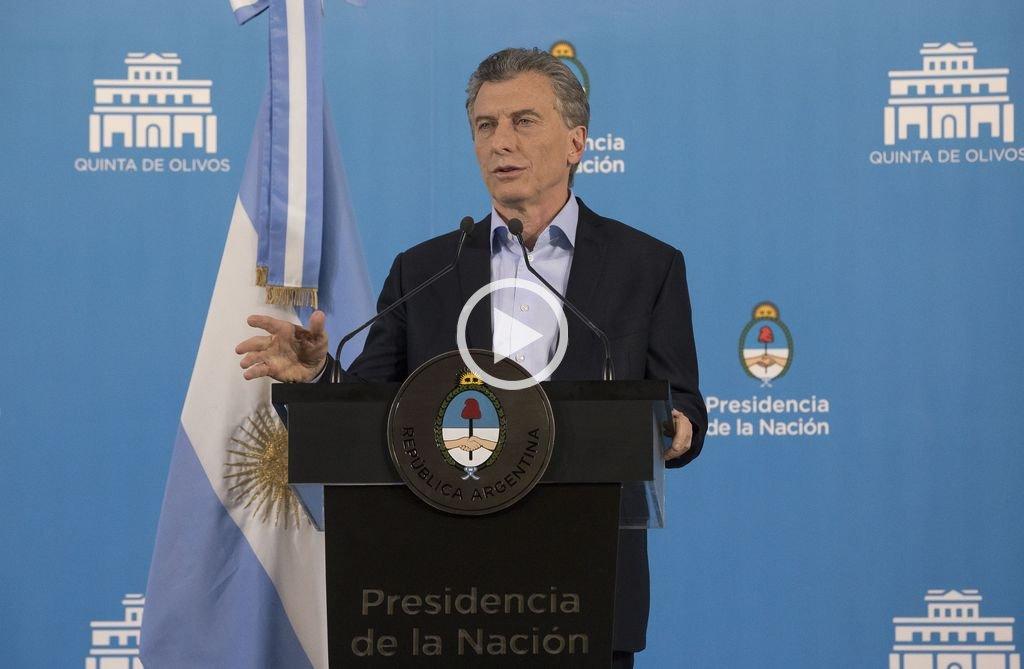 """Macri: """"Argentina es un socio confiable"""""""
