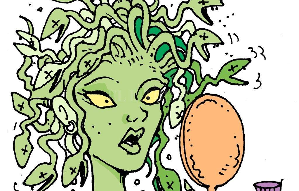 Indignación en el mundo mitológico: Medusa quedó calva