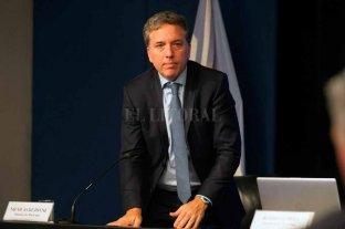 """""""La economía comenzó a recuperarse y se consolidará con las exportaciones"""", sostuvo Dujovne -  -"""