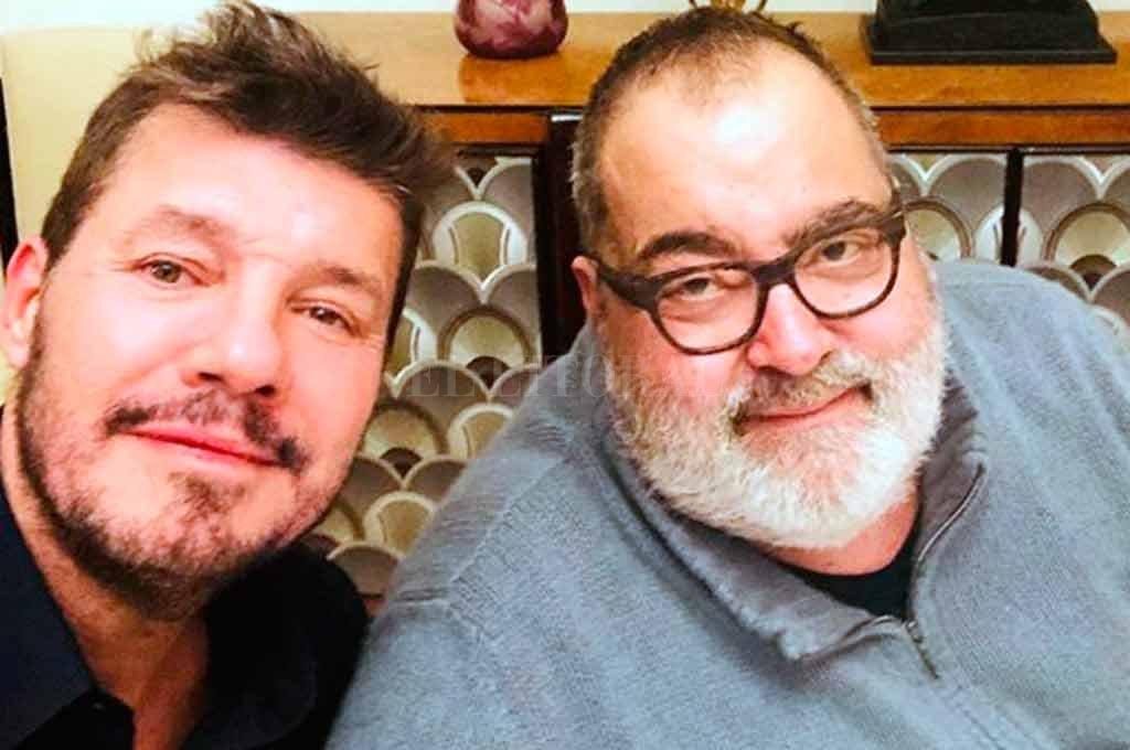 Marcelo Tinelli se juntó con Jorge Lanata