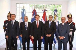 Candidatura al Mundial 2030: Macri se reunió con los presidentes de Chile, Paraguay y Uruguay -  -