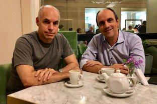 """Horacio Rodríguez Larreta: """"José y Anita son la mejor fórmula para Santa Fe"""""""
