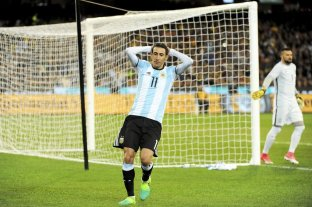 Di María se lesionó y quedó desafectado para los amistosos con la Selección -  -