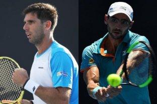 Delbonis y Andreozzi debutaron con triunfos en Miami