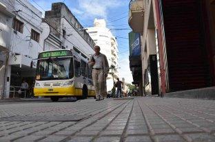Quedó habilitado el tránsito en calle Mendoza