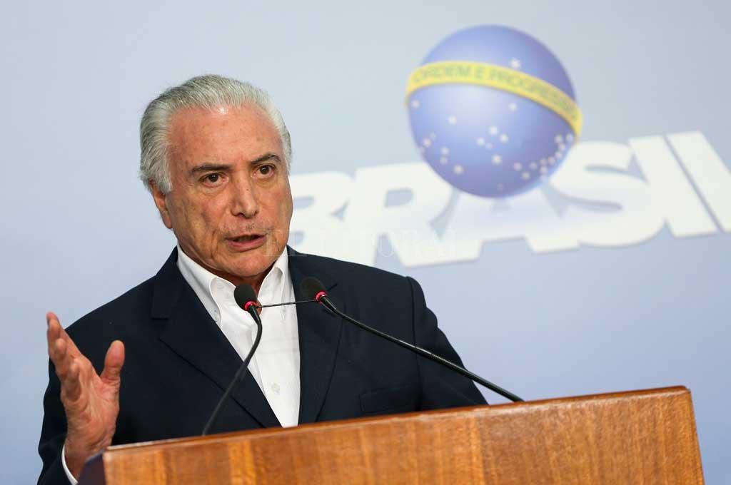 Detuvieron al ex presidente de Brasil Michel Temer