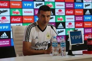 Scaloni confirmó la formación de Argentina: juega Messi -  -