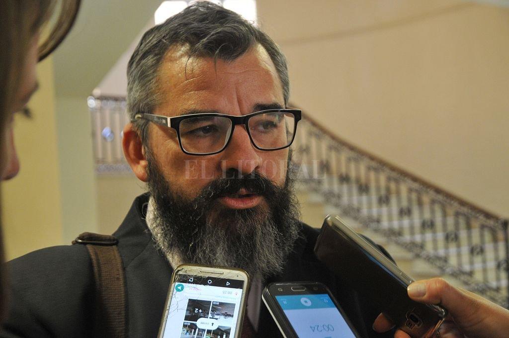 Fiscal Andrés Marchi. Crédito: Archivo El Litoral