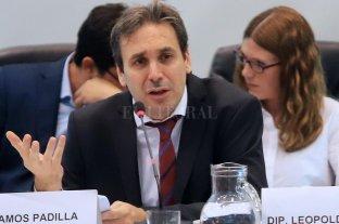 Ramos Padilla volvió al Congreso y ratificó que hay un aparato de espionaje paraestatal - Juez Ramos Padilla. -
