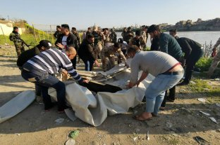 Murieron más de 80 personas en un naufragio en Irak