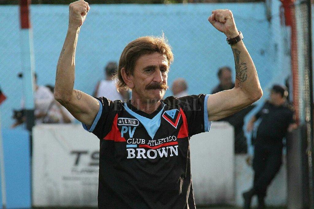 Pablo Vicó. <strong>Foto:</strong> Prensa Brown de Adrogué