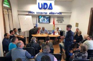 UDA exige una convocatoria a paritaria y por ahora no va al paro -  -