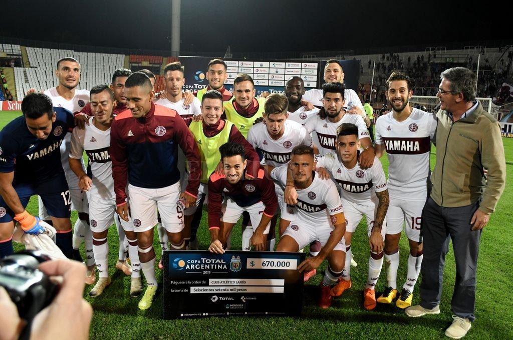 Copa Argentina: Lanús venció a Huracán Las Heras