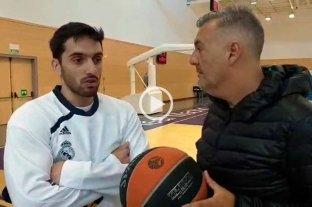 """Facu Campazzo con El Litoral: """"En la Selección se hizo un cambio profundo"""" -  -"""