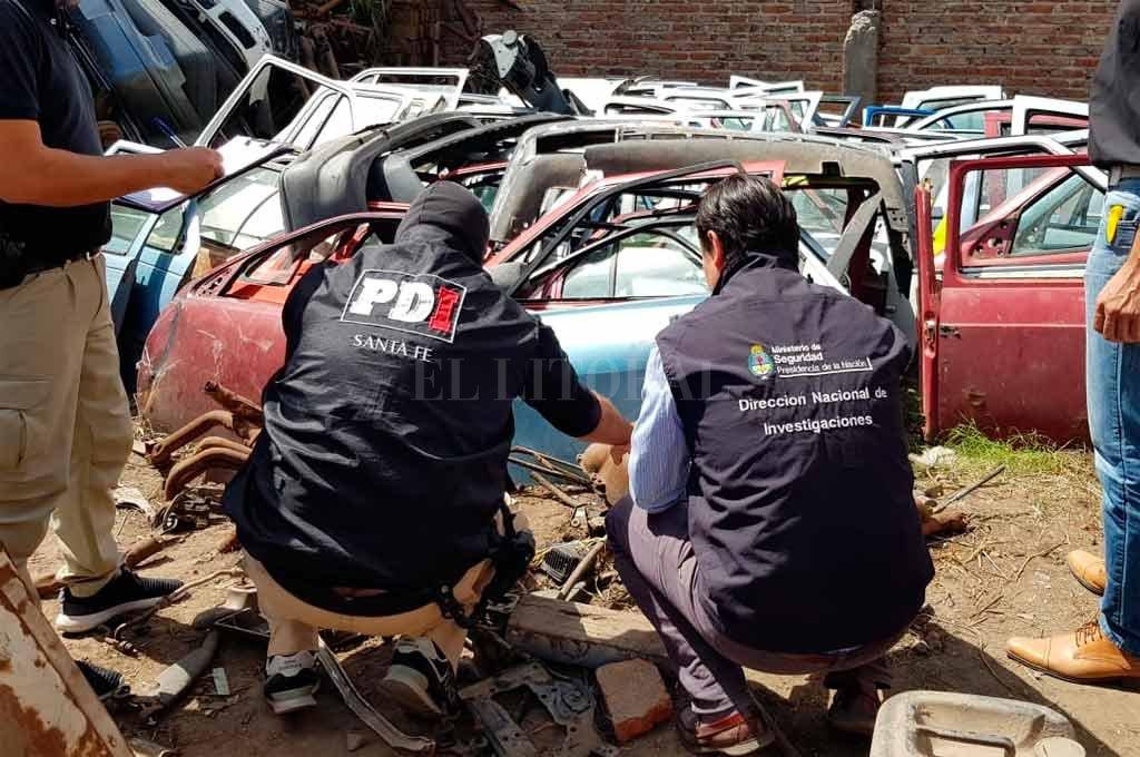 Secuestraron más de 5500 autopartes en locales de Santo Tomé