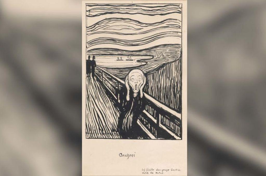 """Fin del misterio: En """"El Grito"""" de Munch el personaje no está gritando"""