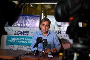 Cachi Martínez presentó el Plan Santa Fe Conectada -  -