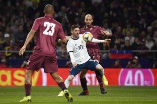 En la vuelta de Messi, Argentina perdió con Venezuela