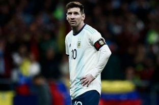 Messi no seguirá en la gira con la Selección por una molestia física -  -