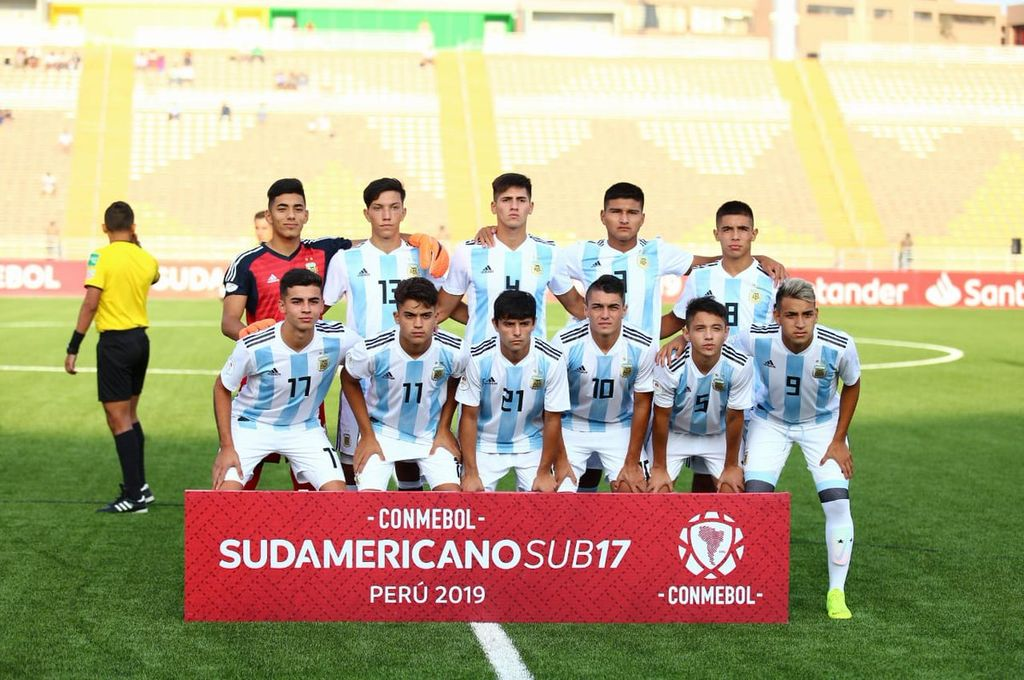 Sudamericano Sub 17: Argentina debutó con una derrota ante Uruguay