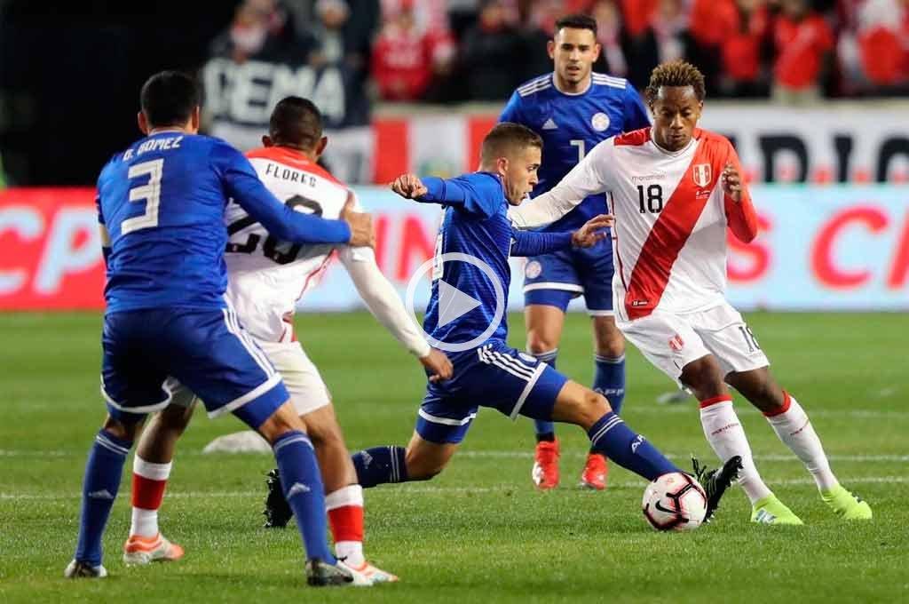 El Perú de Gareca le arruinó el debut a Berizzo con Paraguay