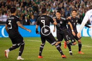 Exitoso debut de Martino con México
