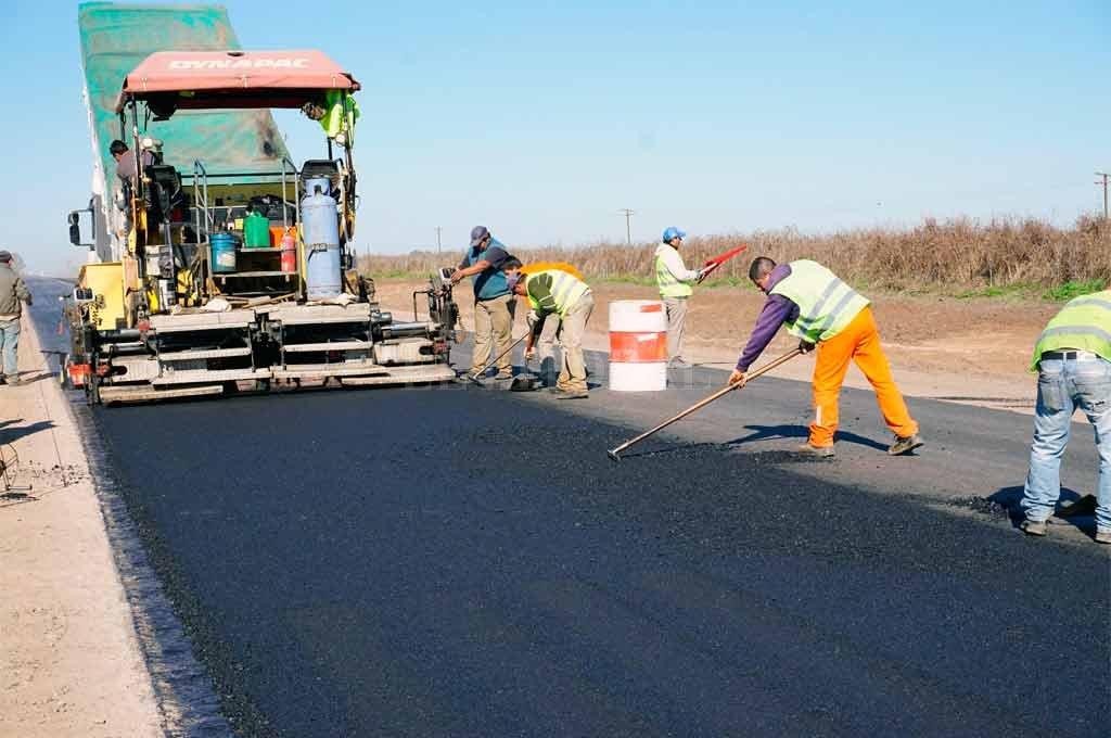 Se construyen 260 kilómetros de nuevas rutas en Santa Fe