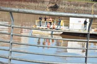 Investigan la muerte de un hombre en el puerto de Santa Fe - La policía trababaja en la zona del hecho -