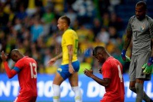 Brasil igualó frente a Panamá