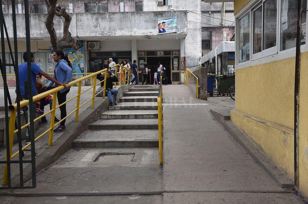 El herido fue llevado por su hermano al Hospital Iturraspe. <strong>Foto:</strong> Archivo El Litoral