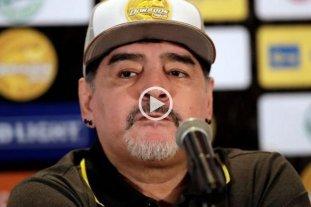 """Maradona criticó duramente a la Selección Argentina: """"No merecen la camiseta"""" -  -"""