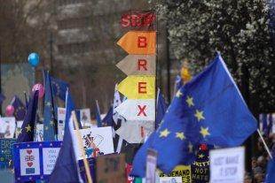 Un millón de británicos marcharon en contra del Brexit