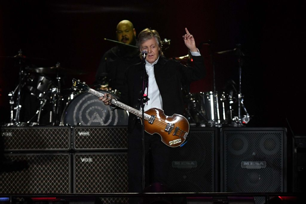 Paul McCartney brilló en Argentina