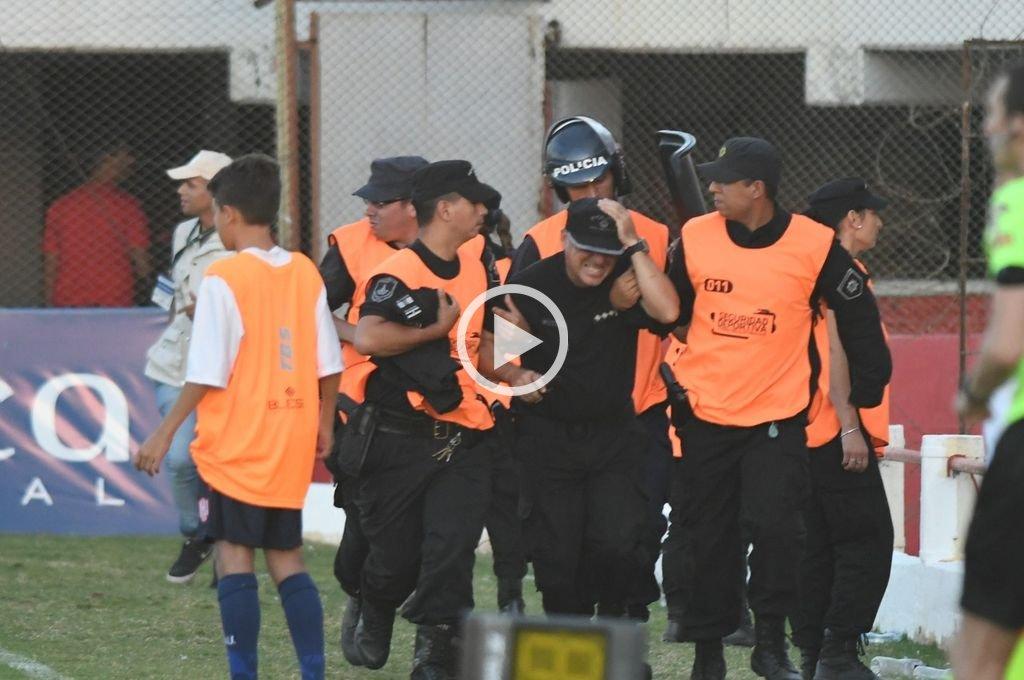 Copa Argentina: incidentes con hinchas de Newell´s en el 15 de Abril