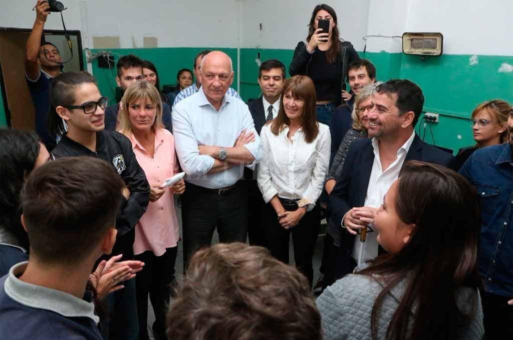 """""""Es clave sumar conocimiento a nuestra producción primaria"""", dijo el candidato a gobernador del Frente Progresista, Antonio Bonfatti. <strong>Foto:</strong> Gentileza"""