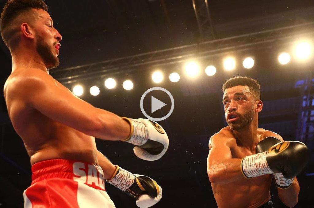 Boxeo: Se burló de su rival y fue noqueado a segundos del final