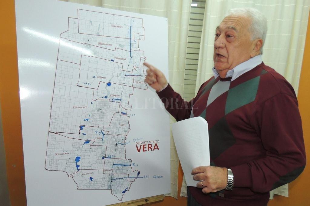 Osvaldo Sosa, senador por el departamento Vera. Crédito: Archivo El Litoral