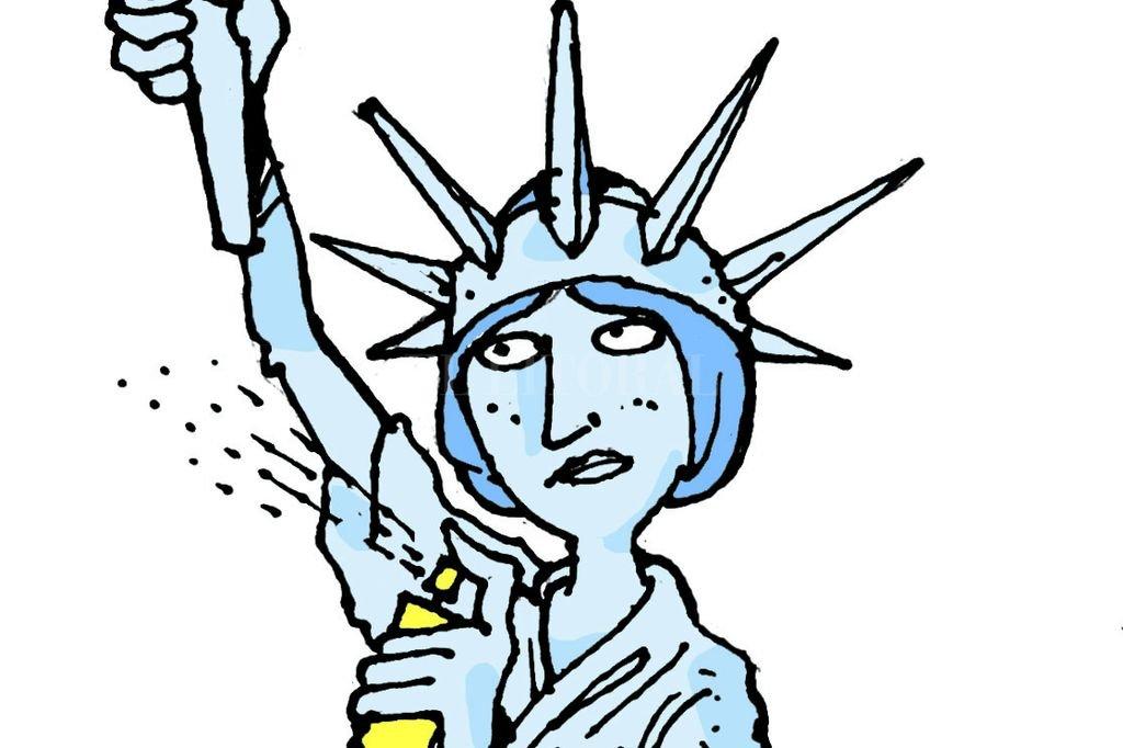 """Conmoción en EEUU: ¡Desaparece """"La Libertad"""" en Nueva York!"""